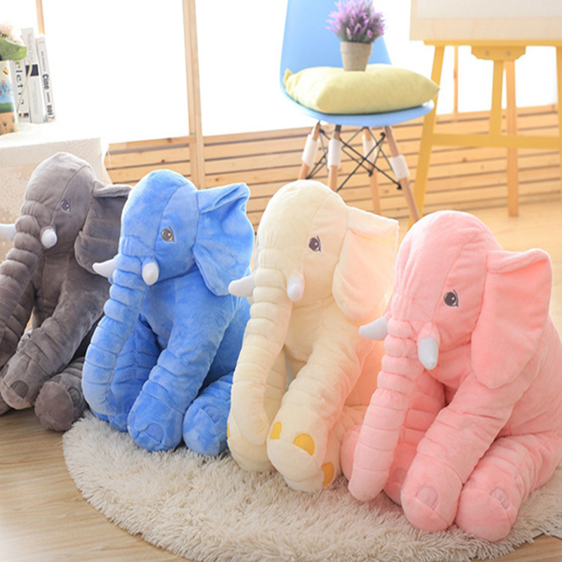 High Quality Big Ears Colors 53cm Elephant Plush Soft Toy Stuffed Baby Doll Kids Toy Big Size Anminal Sleep Pillow Gifts MR094 2017 new ec90 full carbon fiber road bike handlebar racing handle bike bend bicycle handle 31 8 400 420 440mm 7 colors