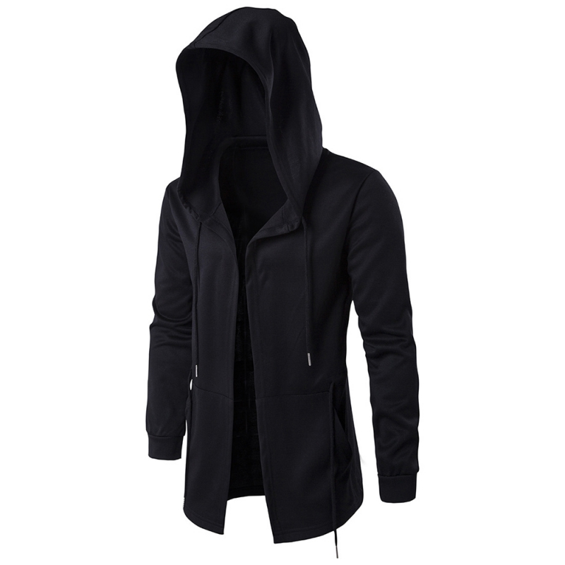 2017 New Male Hooded Sweatshirts Best Quality Hip Hop Mantle Hoodies and long Sleeves Design Cloak Winter Coats Outwear W2