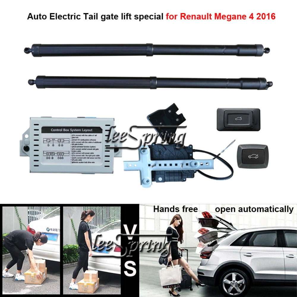 Car Electric Tail Gate Lift Special For Renault Megane 4 2016 With Latch