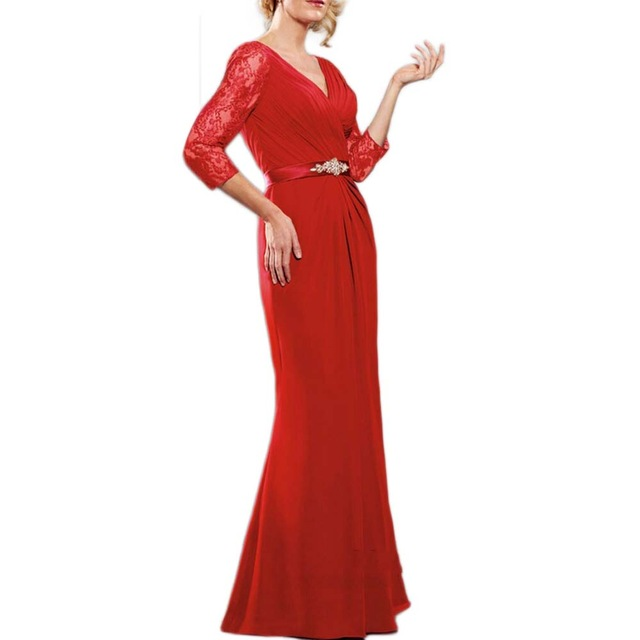 TPSAADE Chiffon Evening Gowns Mother Of The Bride Dresse Plus Size Bride Mother Dress Vestido De