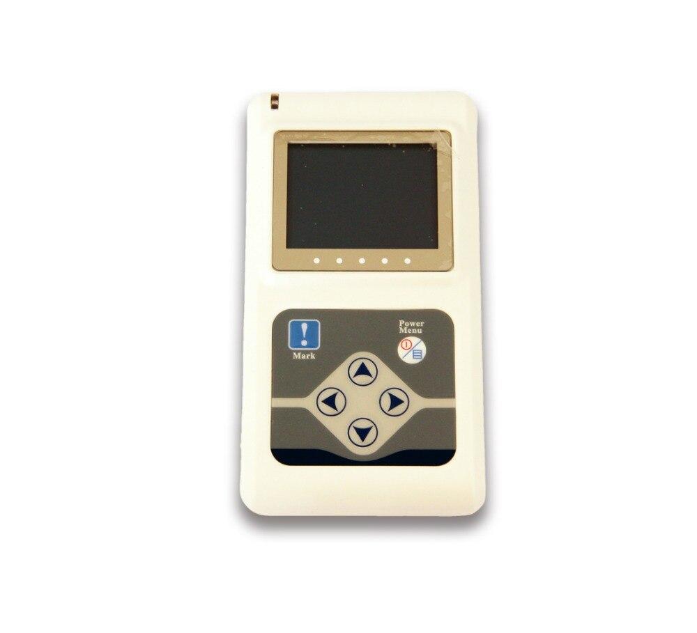Contec Fabrikant verzending 12 Kanalen Contec TLC5000 Hand held ECG/EKG Holter Recorder Systeem CE FDA Gecertificeerd - 3