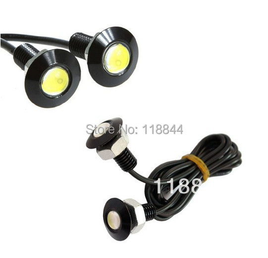 2PCS 9W LED DRL Daytime Eagle Eye Car Fog Reverse Backup Parking Signal Lamp Light For VW Ford Toyota Free Shipping  1 pair 2000lm 20w cree chips drl led eagle eye car fog daytime running reverse backup parking light lamp ip67 waterproof
