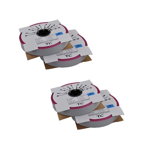1 rollo 76,5 metros 24P 1,27mm paso cable plano tipo cinta cable para 2,54mm FC IDC caja conector de cabezales