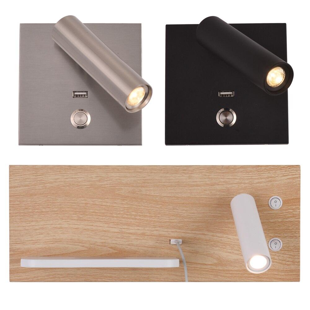Zerouno Lamp Wall Lamp Loft Decor Modern Wandlamp Lampara Pared Cree Chip Hotel Wall Light Via Wireless Charger Usb Charger Leds