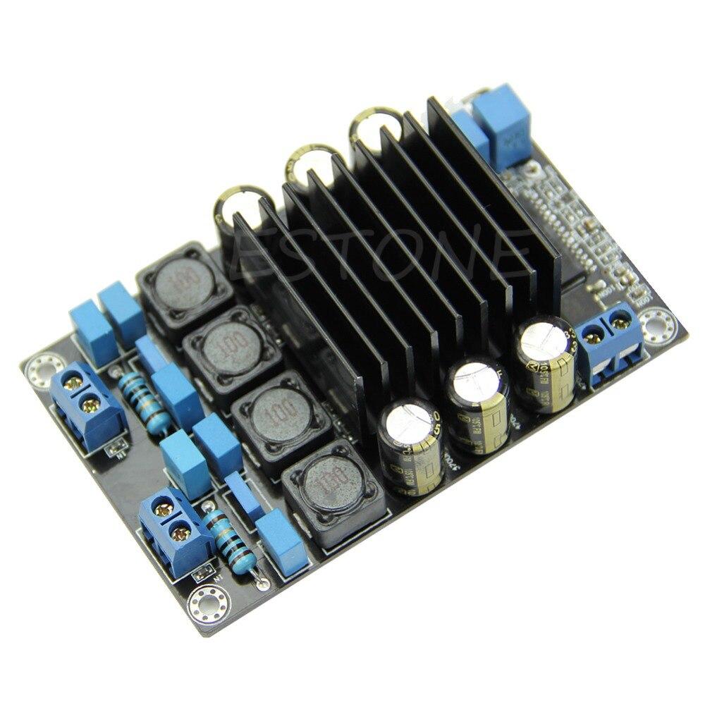 JINSHENGDA Assemblé TP2050 CLASSE D AMP Kit 50 w + 50 w Audio Power Board Amplificateur Numérique