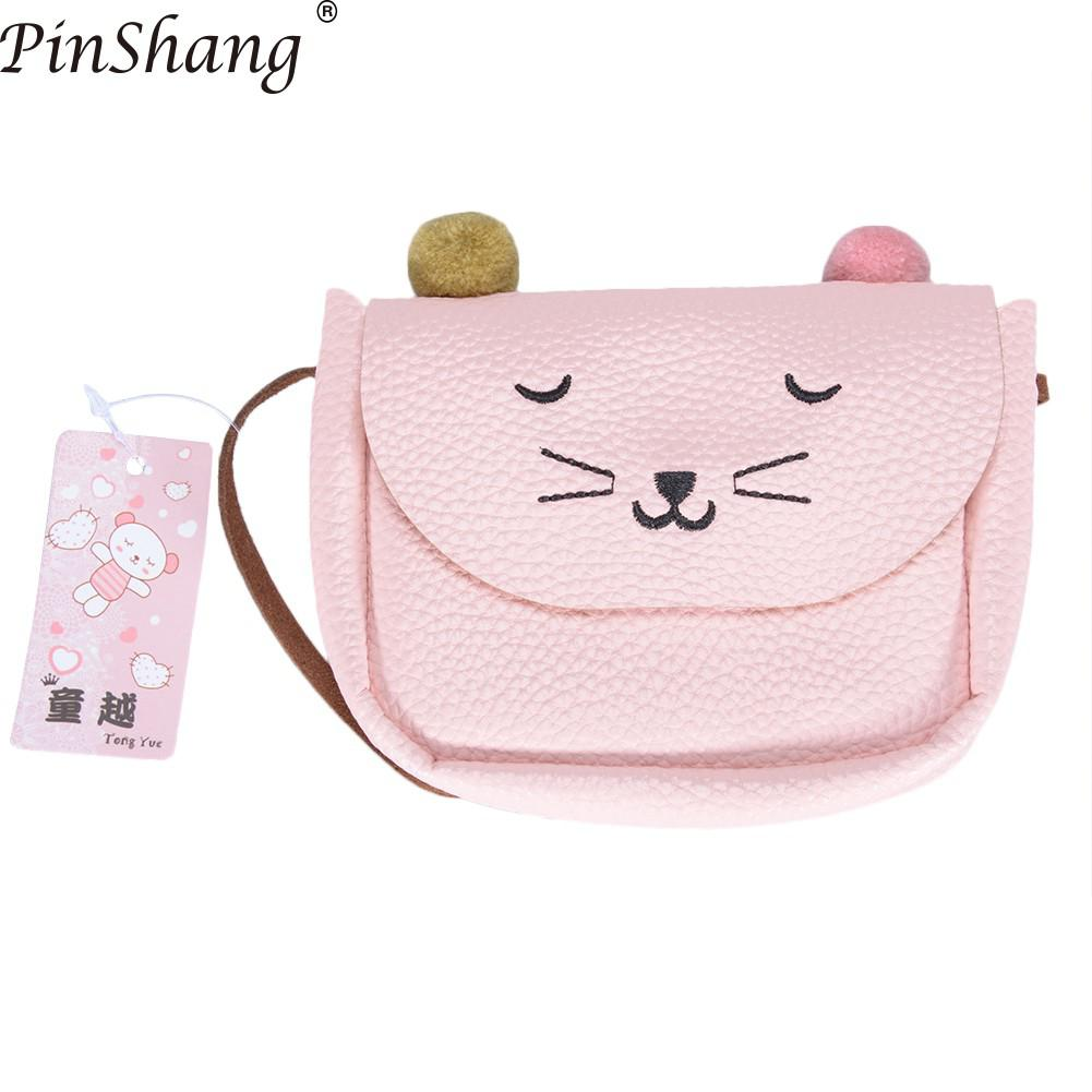 025c49fa431 PinShang Mini Handbag Cute Cat Ear Shoulder Bag Kids All Match Key Coin  Purse Cartoon Lovely Messenger Bags for Children ZK40 on Aliexpress.com |  Alibaba ...