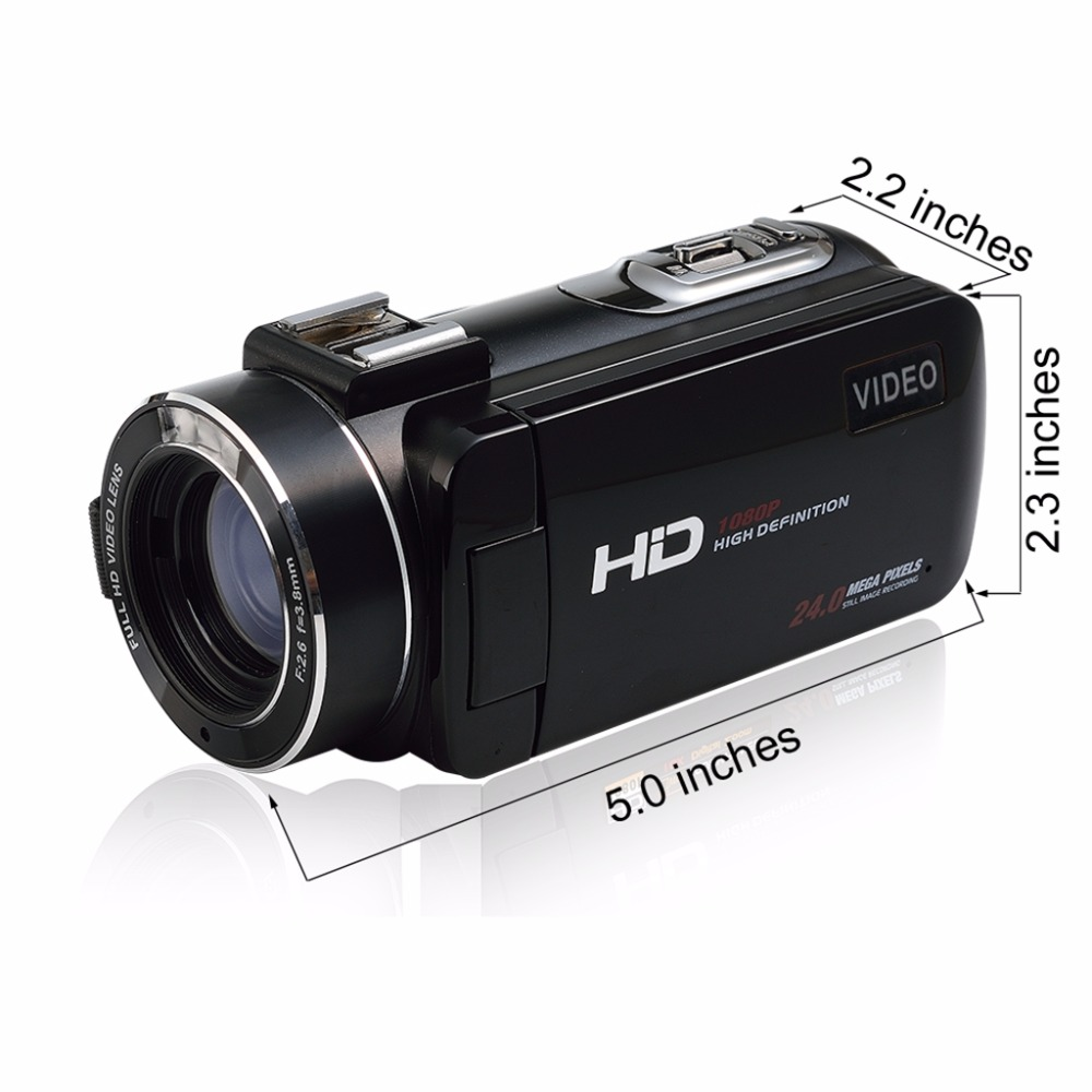 "17 Seree New Arrival FHD 1080P Digital Camera Wifi Video Camcorder 24MP 16x Zoom COMS Sensor 270 Degree 3.0"" LCD Screen 7"