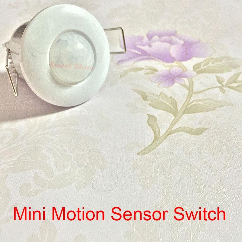 купить Hight Quality 110-240v 50Hz 360 Degree Mini PIR Ceiling Occupancy Motion Sensor Detector Switch Mini sensor Free shipping по цене 671.53 рублей
