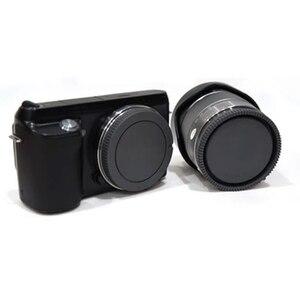 Image 2 - 50 짝/몫 카메라 바디 캡 + 소니 nex NEX 3 e 마운트 용 후면 렌즈 캡