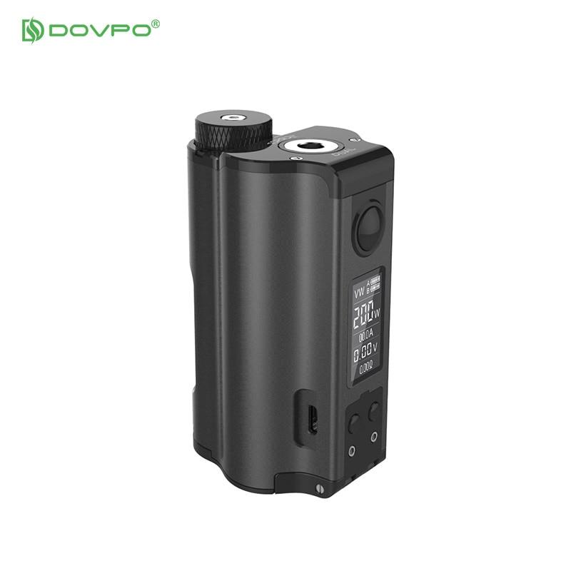 DOVPO Original double remplissage supérieur TC Squonk MOD avec 10 ml bouteille de Cigarettes électroniques Mods VS Voopoo glisser 2 Vape Mod - 5