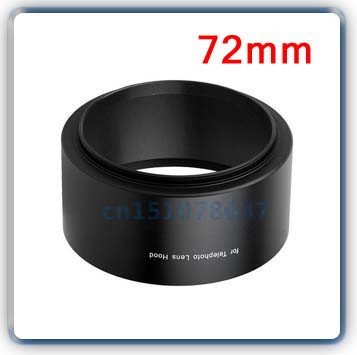 Brand new! камера 72 мм Tele Металл Бленда Для Canon Nikon Sony Pentax Olympus