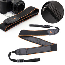 New Arrival 1pc Sturdy Camera Neck Strap Durable Shoulder Belt For Sony A6500 A6300 NEX-7 RX100 V A7R II Camera(Hong Kong,China)