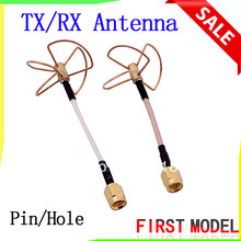 FPV 5,8G 5,8 ГГц Clover 3 лезвия, передача с 4 лезвиями, приемная антенна (TX w/ RX), прямой/разъем отверстия для fatshark