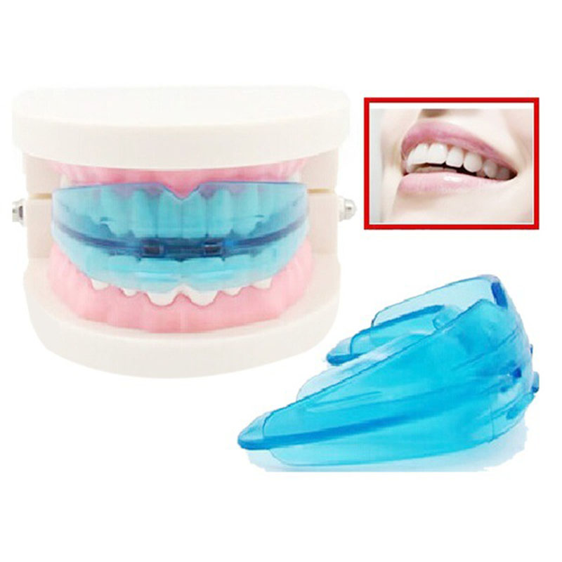 1PC Invisible Orthodontic Braces Dental Mouthguard Teeth Tray Dental Orthotics Retainer Crowded Irregular Teeth Corrector