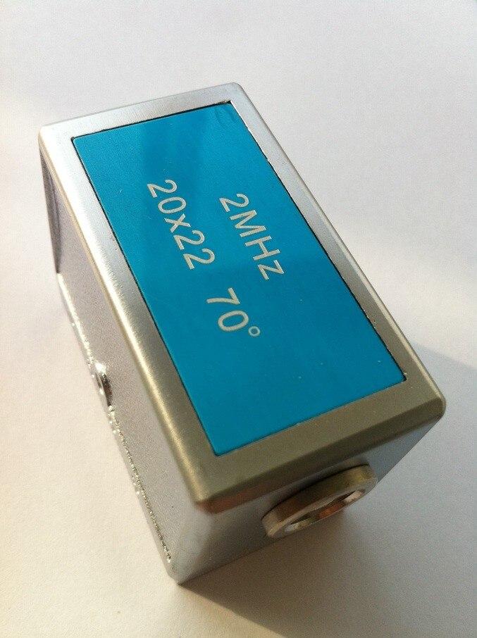 2 pcs (20x22 2 mhz) + 4 pcs (3x4 4 mhz) angle de Faisceau de Sonde Capteur