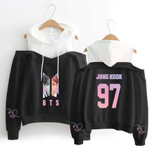 BTS Off-Shoulder Hoodies (21 Models)