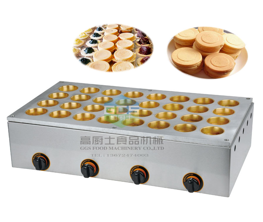 free shipping~Gas  type 32 hole Japanese Dorayak Maker Bean Cake Machine Waffle Baker free shipping gas type 16 hole layer cake machine pattern in bottom waffle machine