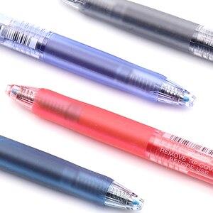 Image 5 - 12 قطعة/صندوق Uniball UMN 105 Signo جل مجموعة أقلام قابل للسحب 0.5 مللي متر السلس الحبر Boligrafo غرامة هلام قلم الكرات الدوّارة اللوازم المدرسية