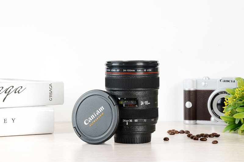 HTB12836LXXXXXaoXXXXq6xXFXXXv - Caniam SLR Camera Lens 24-105mm 1:1 Scale Plastic Coffee Tea MUG 400ML Creative Cups And Mugs With Lid M102 MUG-09