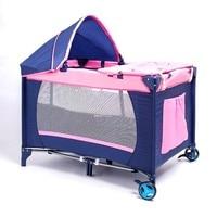 Caxx многофункциональная складная кроватка для младенца Модная складная кровать для игр детская колыбель кровать, детская кроватка Колыбель