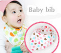Newborn Baby Bibs Waterproof Bib Burp Cloth For Girls And Boys kidsl Double Side Baby Scarf 100% Cotton baby feed product