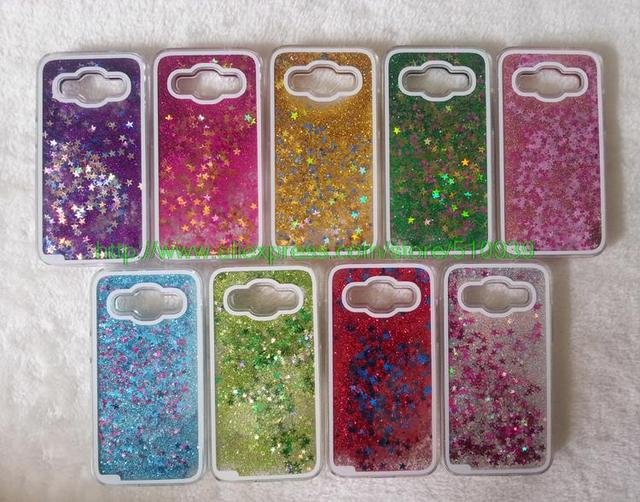 separation shoes 53c32 477bd US $2.43 |Clear Glitter Stars Dynamic Water Liquid Case for Samsung Galaxy  Core Prime G360 G360H G3606 G3608 Plastic Cover Phone cases-in Half-wrapped  ...