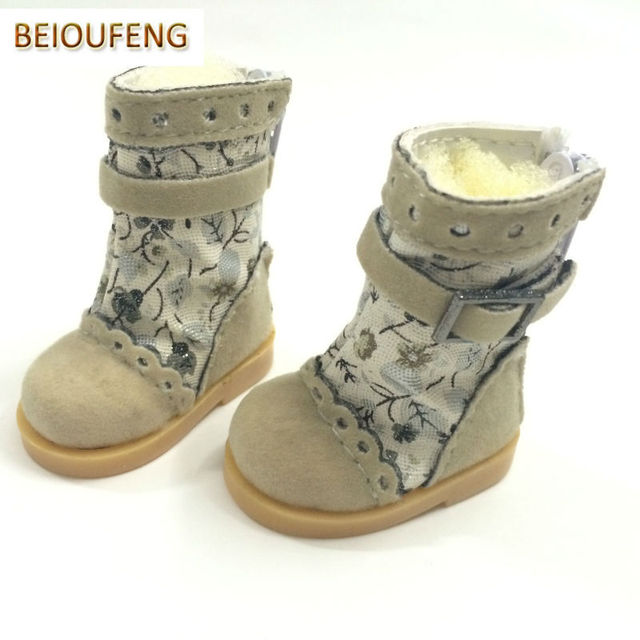 1/6 BJD Doll Shoes 5 CM Causal Sneakers Shoes for BJD Dolls,Fashion Doll Boots 1/6 Scale Accessories for BJD Dolls 12 Pair/Lot