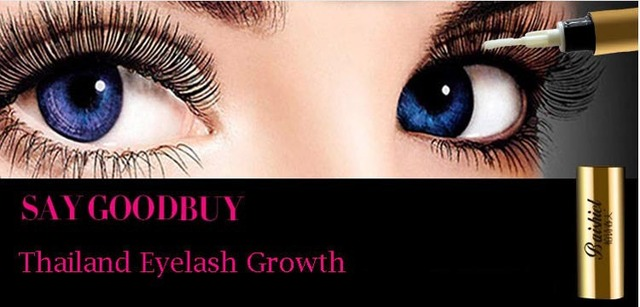 Thailand Eyelash Growth Liquid - pure plant Mascara - Lengthening bushy - eyebrow growth medium - Curl Waterproof