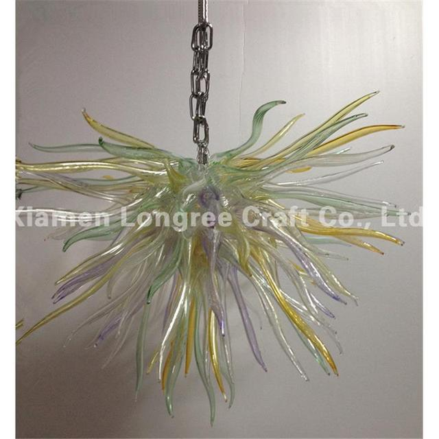 China Supplier Home Decoration Led Light Dale Chihully Style Hand Blown Glass Art Chandelier