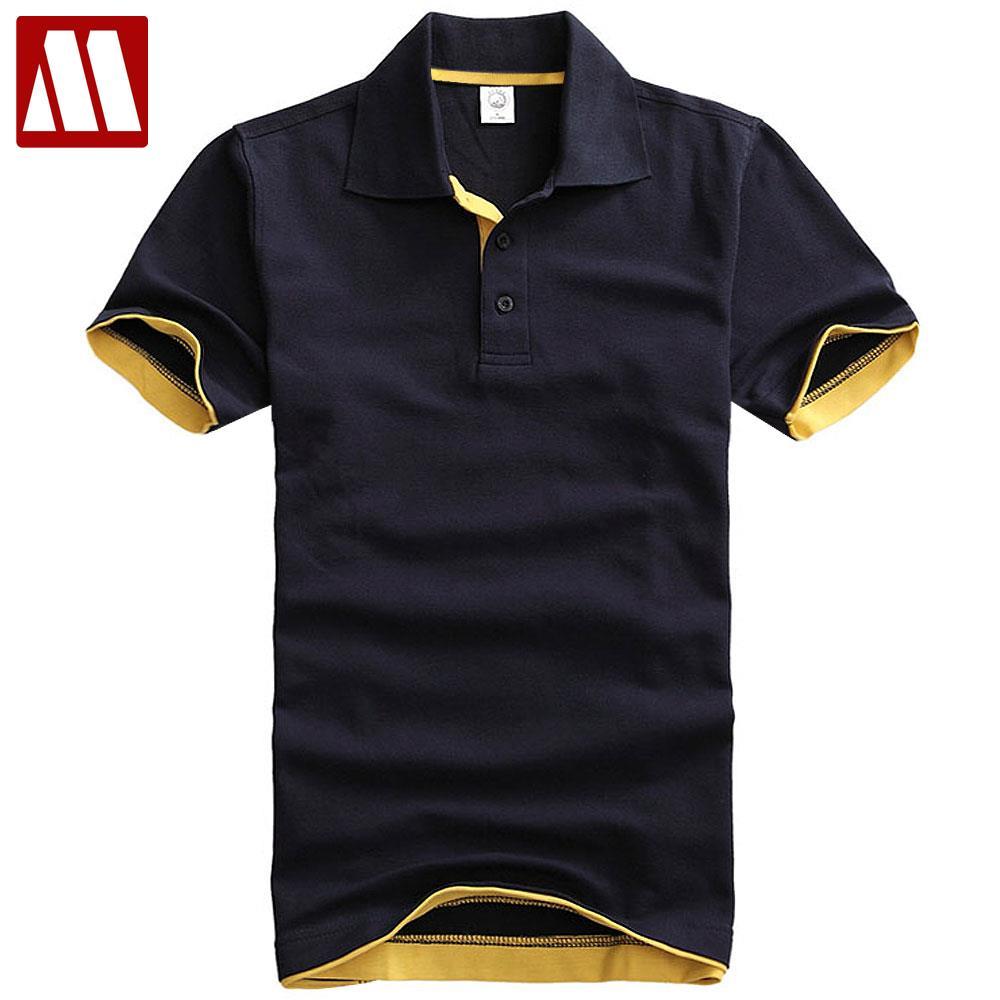 British style fashion polo shirts men pure cotton short sleeve solid polo shirt men s casual dress