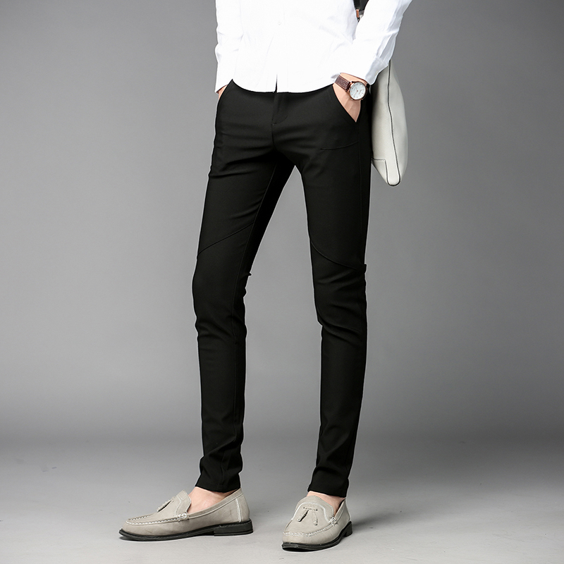 Online Get Cheap Mens Slim Fit Dress Pants -Aliexpress.com ...