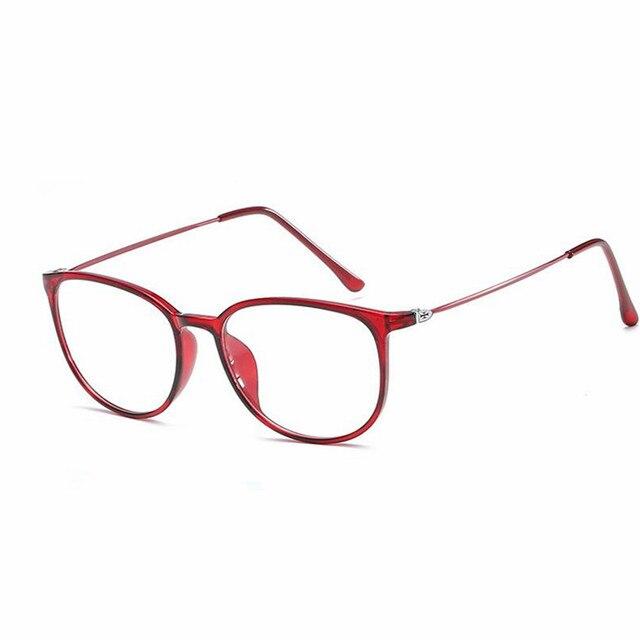 3247a5d731 2017 New Arrival Fashion Harajuku Retro Round Glasses Frame Women Myopia  Metal Eyeglasses Optical Prescription Lens