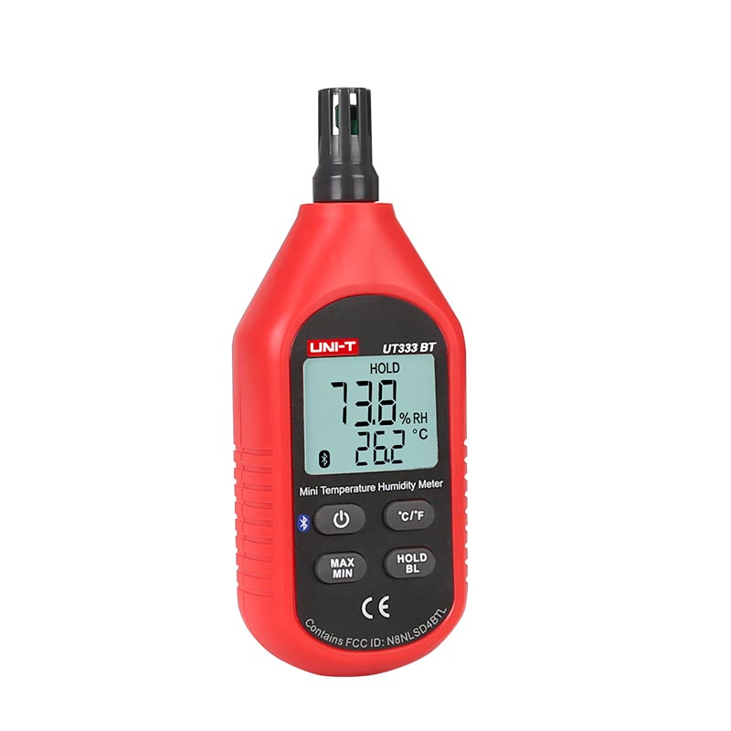 UNI T UT333BT Thermometer Hygrometer Bluetooth Digital LCD Mini Temperature Humidity Meter Moisture Meter Sensor Thermometer