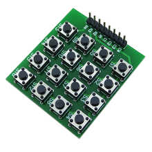 8pin 4*4 4×4 Matrix 16 Keypad Keyboard Breadboard Module 16 Button Mcu
