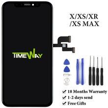 Pantalla LCD para iPhone X, XS, Max, XR, Tianma, AMOLED, OEM, con digitalizador para iPhone X, montaje de pantalla