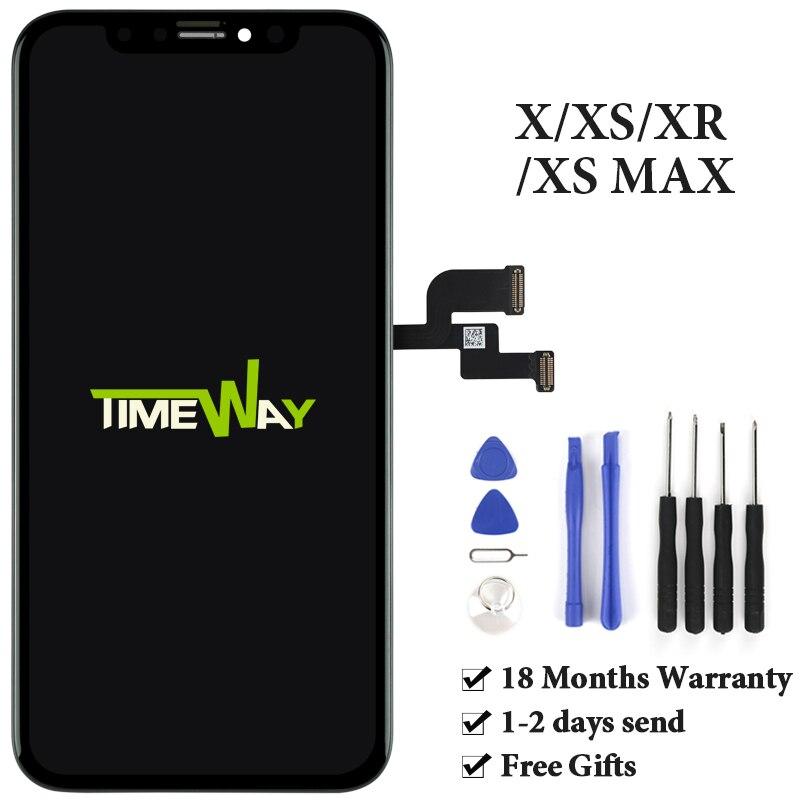 Pour iphone X XS Max XR écran LCD pour Tianma AMOLED OEM avec numériseur Alibaba Express pour iphone X LCD écran assemblage