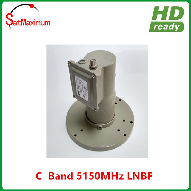 Universal C band single LNBF with High gain Low noise for digital satellite TV