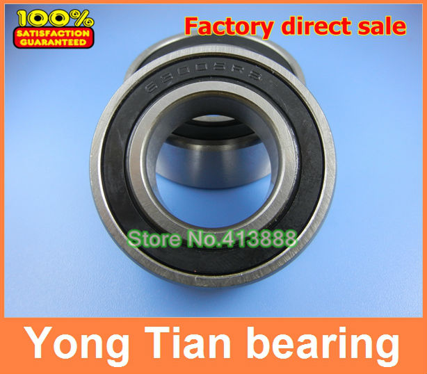1pcs Free Shipping SUS440C environmental corrosion resistant stainless steel bearings (Rubber seal cover) S6010 2RS 50*80*16 mm
