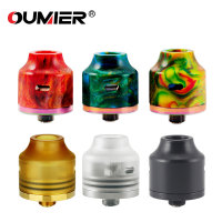 Original OUMIER WASP NANO RDA Big Deck Rebuildable Tank 22mm Diameter Adjustable Airflow Bottom Airflow NANO