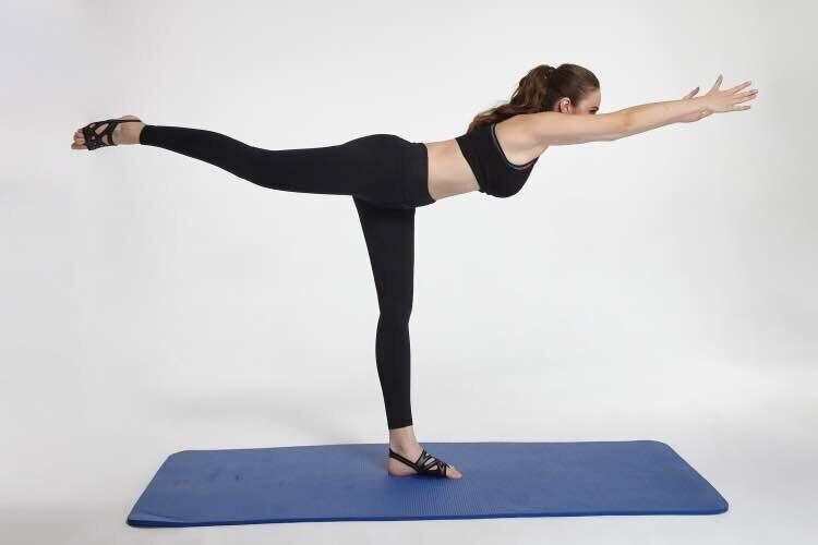 Envío Gratis zapatos de baile de Ballet para mujeres Yoga suela suave de silicona cómoda - 5