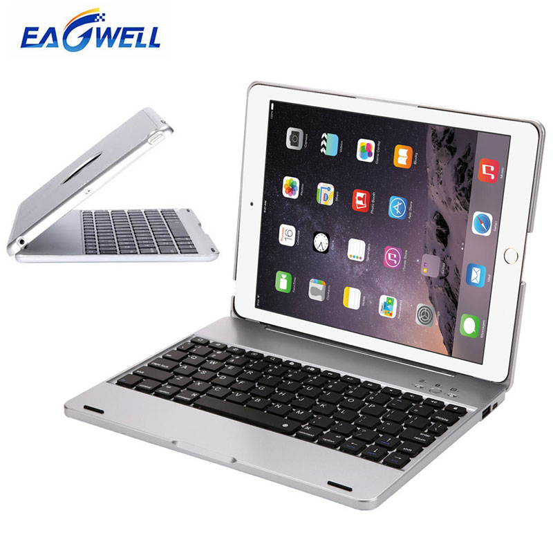 Eagwell Wireless Bluetooth Keyboard Case For iPad 2 3 4 Full Body Protective ABS Cover Tablet Keyboard Case for Apple iPad 4 3 2 for ipad pro 10 5 shockproof magnet 2 in1 bluetooth 3 0 wireless keyboard foldable flip case stand cover holder for ipad 2 3 4
