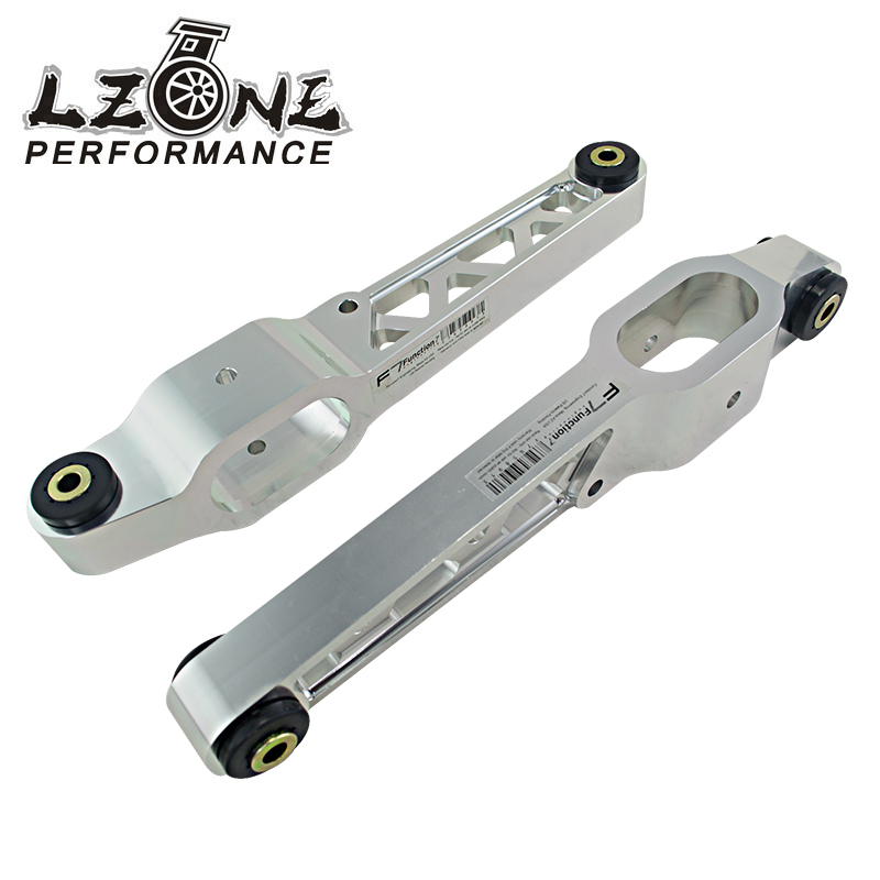 ФОТО LZONE RACING- NEW LOWER CONTROL ARM FOR FUNCTION 7 F7 REAR LOWER CONTROL ARMS LCA BILLET FOR INTEGRA TYPE R 97-01 DC2R JR1051F
