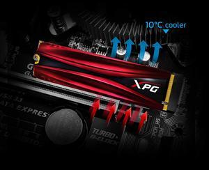 Image 4 - Adata Xpg Gammix S11 Pro Pcie Gen3x4 M.2 2280 Solid State Drive Voor Laptop Desktop Interne Harde Schijf 256G 512G