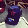 2016 star pattern men hip-hop cap male baseball cap women brim straight snapback female leisure chapeau unisex bone