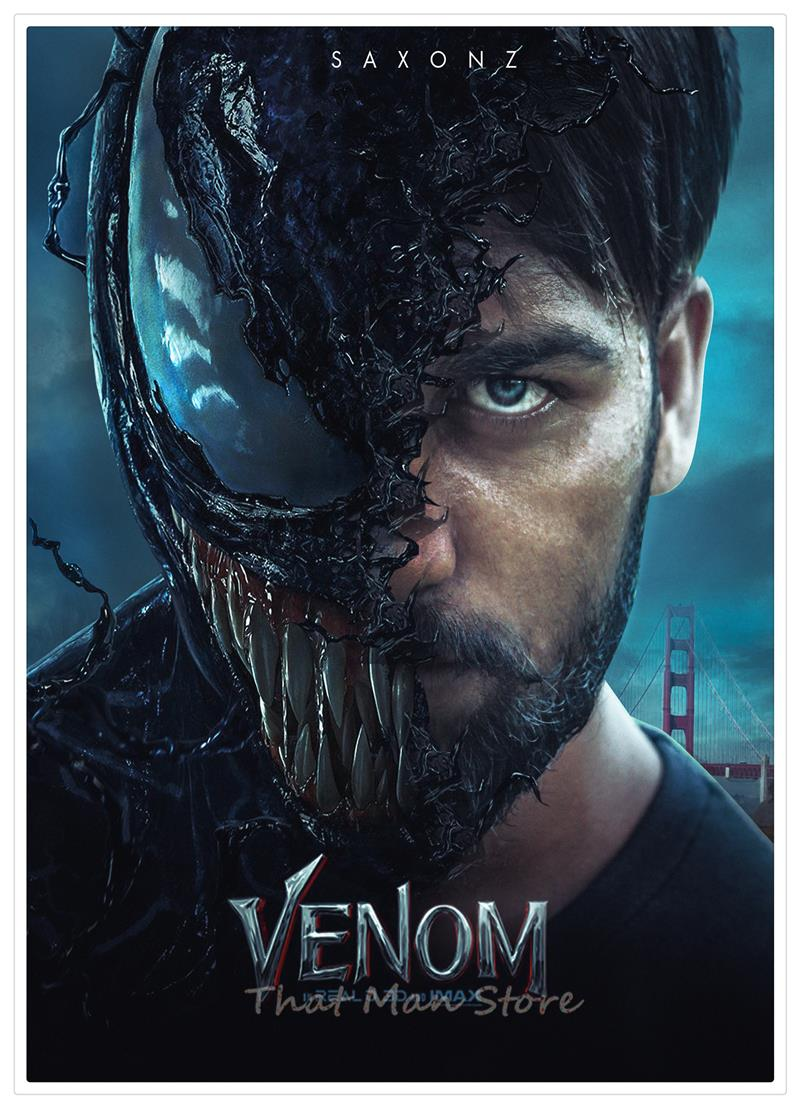 New Venom Movie Tom Hardy Marvel Home Furnishing