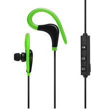 Wireless Bluetooth Sport Earphone Stereo Sound Earbuds BT-1 4.1 Noise Cancelling Earpieces for Running Hiking Jogging Cycling(China)