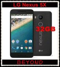 LG Google Nexus 5X H791 Original Unlocked GSM 4G LTE Android 5.2'' 12.3MP Hexa Core RAM 2GB ROM 32GB Mobile phone Dropshipping