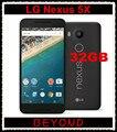 Lg google nexus 5x h791 original desbloqueado gsm 4g lte android 5.2 ''12.3MP Hexa Núcleo RAM 2 GB ROM 32 GB telefone Móvel Dropshipping