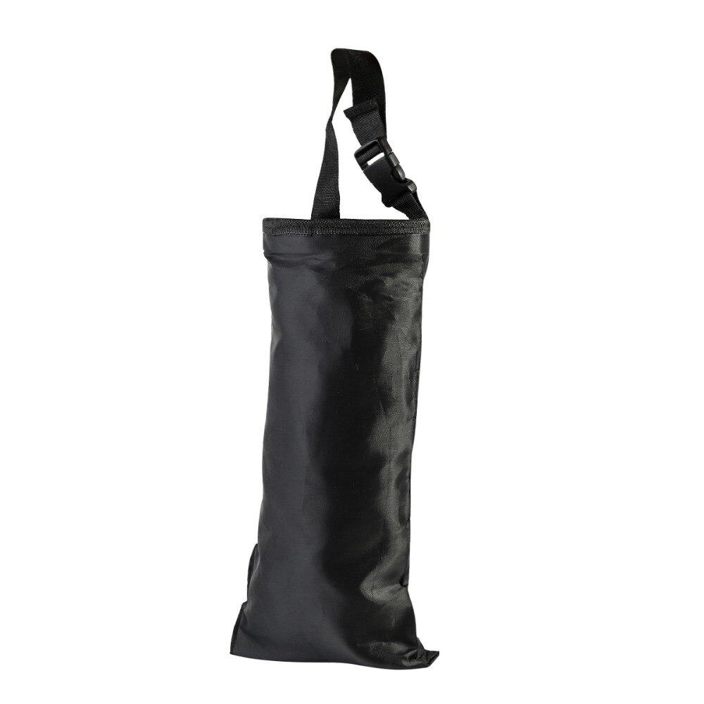 Car Black Seat Back Litter Trash Bin Garbage Hang Bag Holder Storage Container
