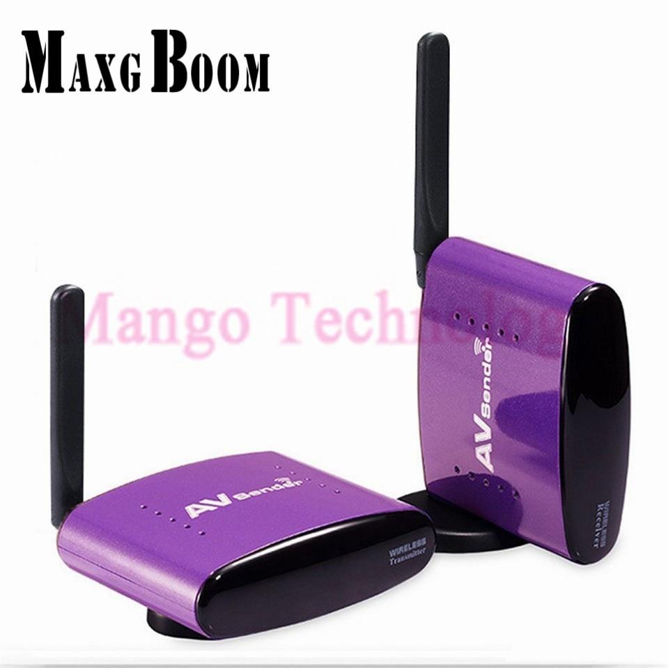 2017 New PAT 650 5 8GHz 300m Wireless STB AV Sender font b TV b font